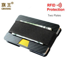 100% Real Carbon Fiber Slim Wallet 3K Credit Card Holder for Men Luxury and Durable Case Rfid Flocking