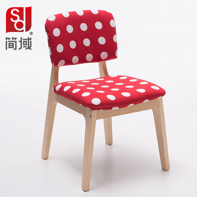 Jane Domain Minimalist Scandinavian Wood Dining Chairs Dinette Chairs  Creative Fashion Small Wooden Chair Design Chair