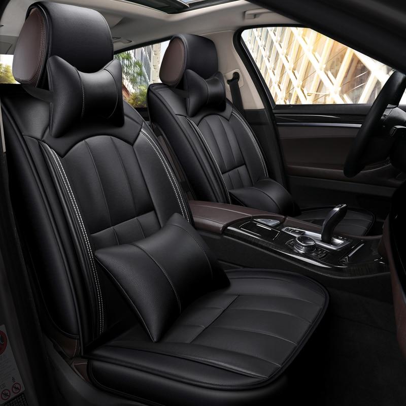 FIAT FULLBACK 4x4 2 x Fronts Heavy Duty Black Waterproof Car Seat Covers