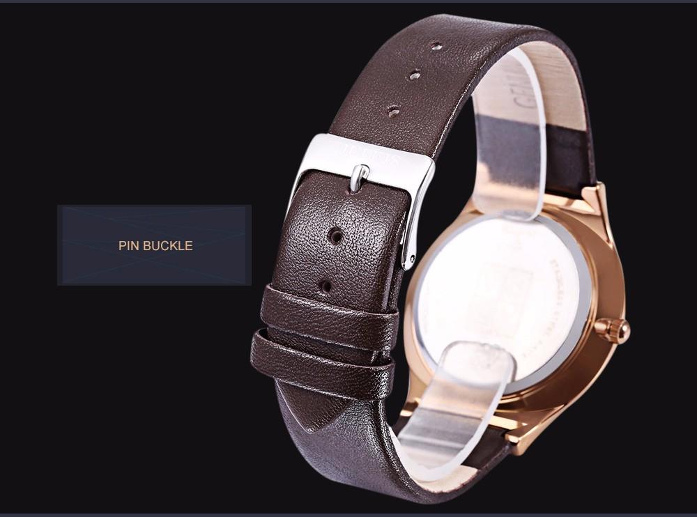 Julius Men Watch Stainless Steel Band Analog Display Quartz Wristwatch (12)
