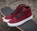 Vans clásico sk8 hi = high top otoño/invierno zapatos de lona unisex para hombres y mujeres zapatillas de skate