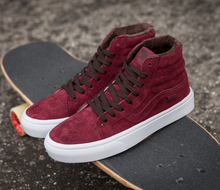 Vans classic SK8=HI high top autumn/winter unisex canvas shoes for men and women skateboarding sneakers