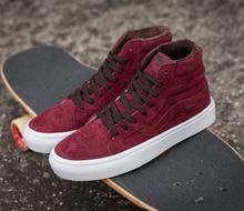 Vans classic SK8=HI high top autumn/winter unisex canvas shoes for men and women skateboarding sneakers
