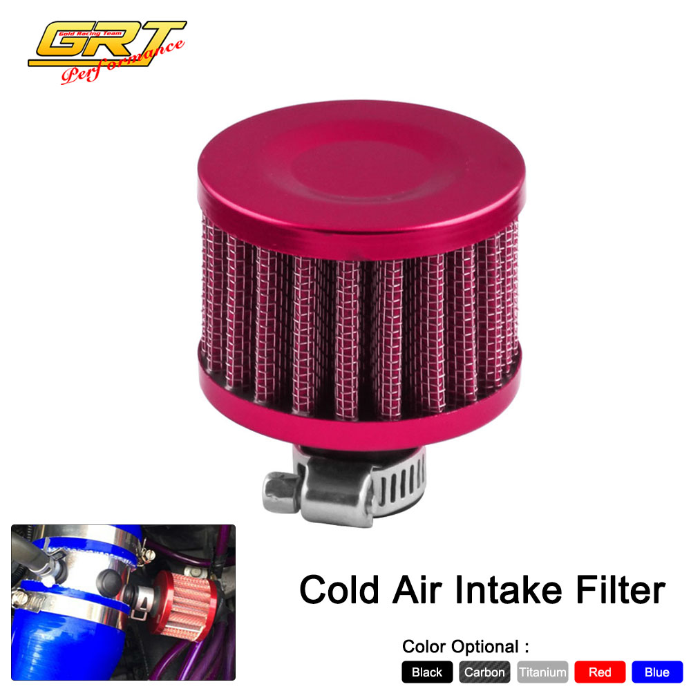 12 Round Air Cleaner : Grt free shipping mm round meshed air filter oil
