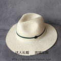 Fashion double black m dark green two-color ribbon strawhat female hat elegant sun-shading beach cap summer sun-shading