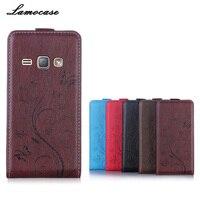 Leather Case For Samsung J1 2016 Flip Case For Samsung Galaxy J1 2016 J120 J120F J1