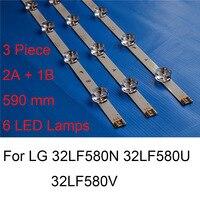 Brand New LED Backlight Strip For LG 32LF580N 32LF580U 32LF580V TV Repair LED Backlight Strips Bars 6 Lamps A B TYPE Original Shell & Body Parts     -