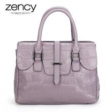 New Luxury famous brand togo Crocodile Embossed Genuine Leather Bags Designer Handbags Ladies Purse Tote Shoulder