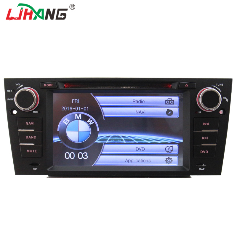 LJHANG Wince 7 Inch 1 Din Touch Screen Car dvd Player For BMW E90 E91 E92 E93 Automotive gps navigation headunit RDS Mirror Link trw automotive jts215 premium stabilizer link