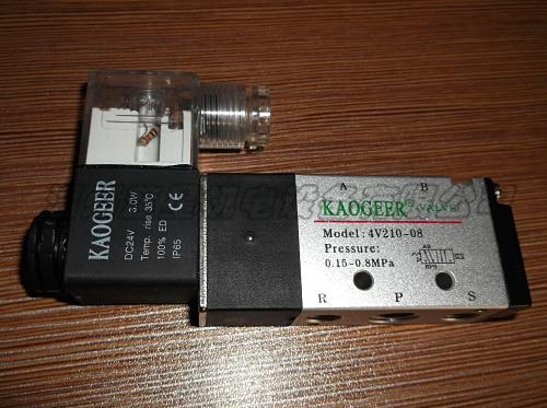 Airtac type Solenoid Valve, Pneumatic Control Valve, Reverse Solenoid Valve 4V320-10 3924450 2001es 12 fuel shutdown solenoid valve for cummins hitachi