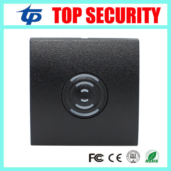 KR200 IP65 waterproof 125KHZ RFID card reader proximity card smart card reader 86 size door access control system card reader ZK smart card reader door access control system 125khz smart rfid card proximity card door access control reader 10pcs rfid keys
