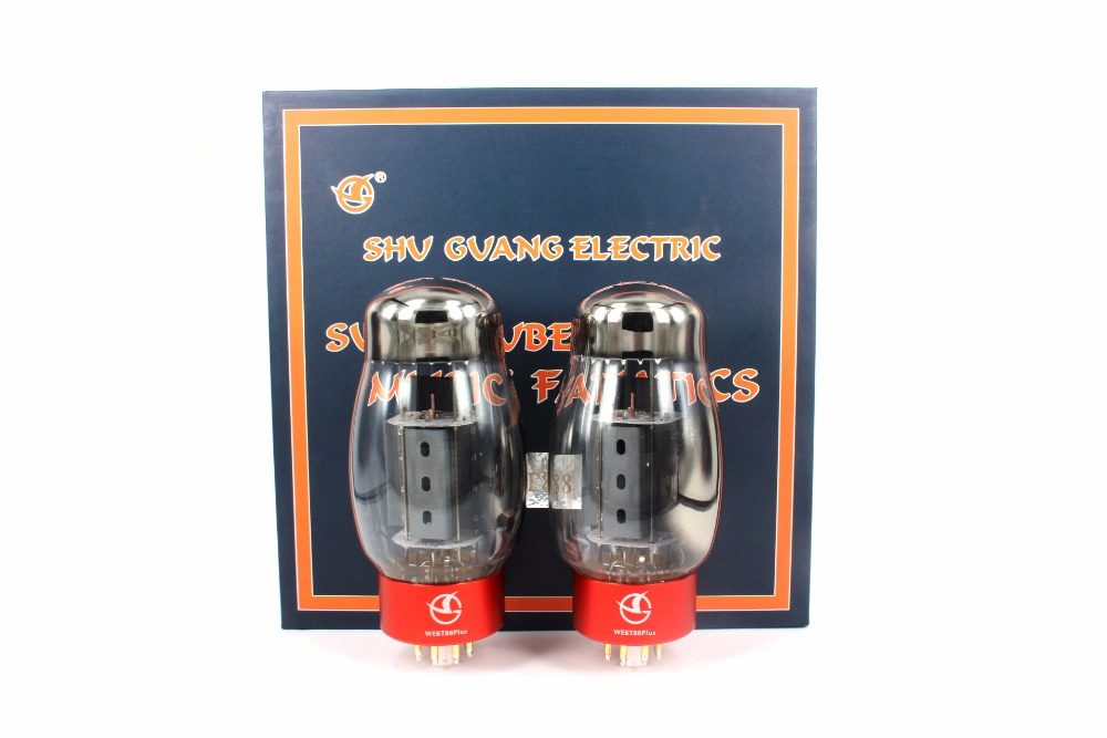купить Newest WEKT88 PLUS Vacuum Tube HiFi Shuguang KT88 Replace Tube For Amplifier Audio HIFI DIY Factory Tested Matched 1Pair недорого