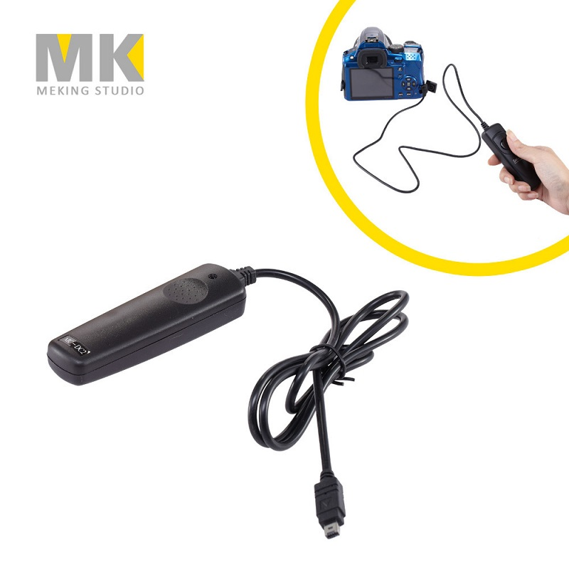 MC-DC2 Cable Shutter Release Timer Remote control trigger for Nikon D90 D5100 D5200 D3100 D3200 D7000 D7100 D600 meyin rs 802 dc2 wired remote shutter release for nikon d600 d90 more black 90cm cable