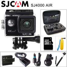"SJCAM SJ4000 AIR 4K Action Camera Full HD 4K 30fps WIFI 2.0"" Screen Mini Helmet Waterproof Video Recording Sports Cam DV"