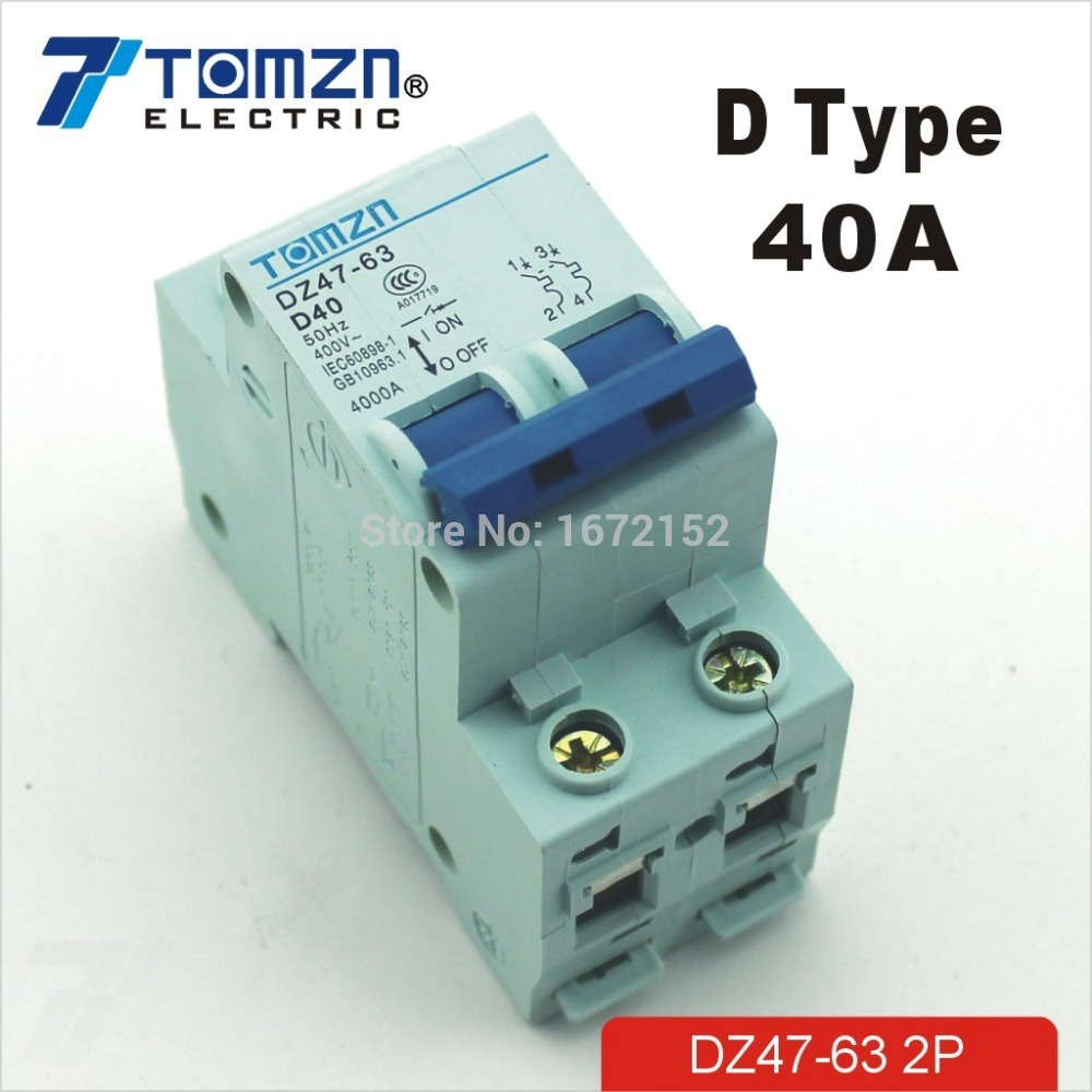 Aliexpress.com : Buy 2P 40A D type 240V/415V 50HZ/60HZ