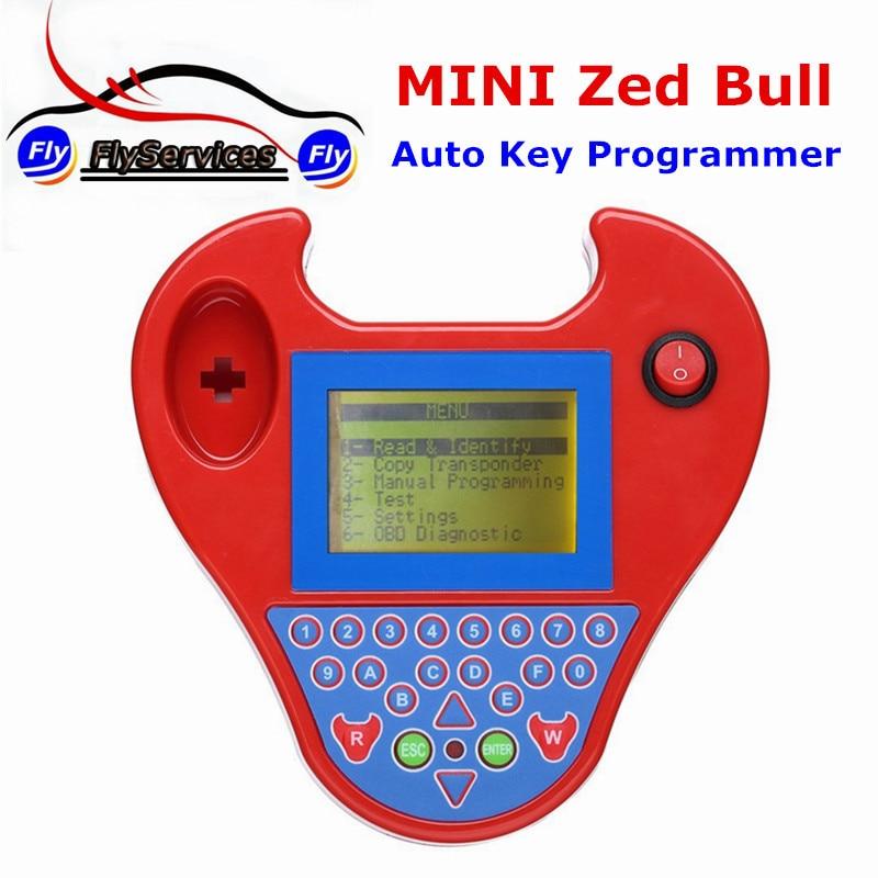 Neueste Version V508 Super Mini Zedbull Intelligenter Zed-stier-schlüsseltransponder Programmierer ZED-STIER-SCHLÜSSELTRANSPONDER-PROGRAMMIERER Mini-schlüsselprogrammierer