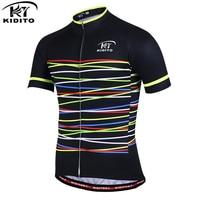 KIDITOKT HOT Sale Men Cycling Clothing Quick Dry Fitness Summer Short Sleeves Bike Jerseys MTB Downhill