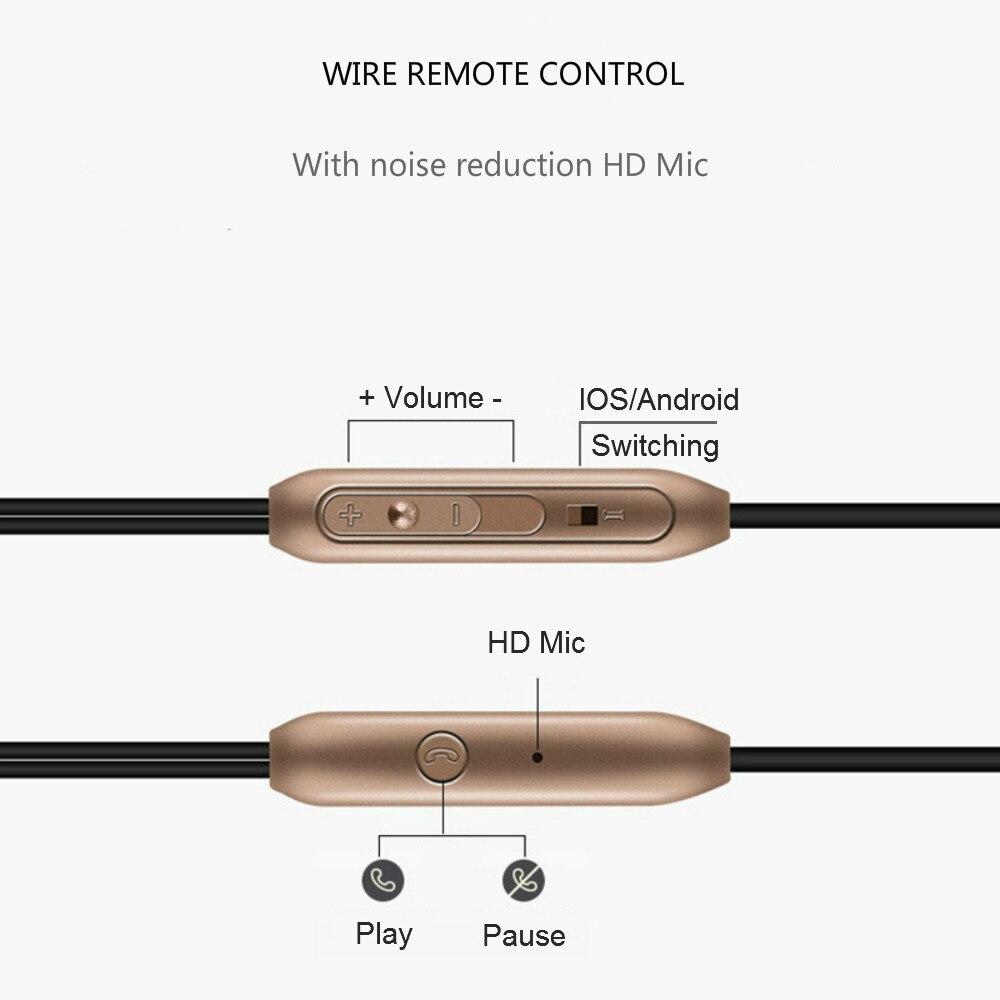Q BAIHE In Ear Metal HiFi Wire 3 5mm Earphones Bass Music Earbud Sport Earphone With Mic Game fone de ouvido For Phone xiaomi Pc in Phone Earphones Headphones from Consumer Electronics