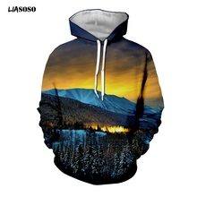 3D Lights Pullover Borealis