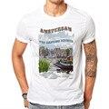 Mais novo de impressão t shirt homens amsterdam fashion homem camisetas de algodão branco camiseta de algodão de manga curta tops hipster clothing ja02