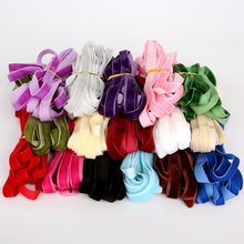 5yard/lot Sparkle Nylon Single Faced Velvet Ribbon Velour Webbing Headband Hair Band Accessories Lace Fabric 10MM(China)