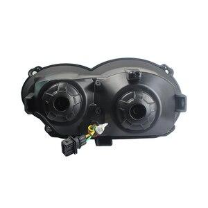 Image 2 - Led ヘッドライトアセンブリ新オートバイライト照明 DRL ミニタッチデジタイザースクリーン BMW R1200GS 2008 2009 2010 2011 保護カバー