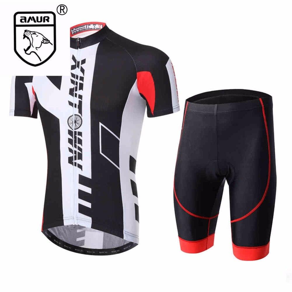 Amur Leopard Sport Team Cycling Jersey Sets Mens Bike Bicycle Clothing Short Sleeve полотенцесушитель milardo amur amusm10m49