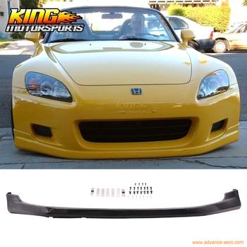 Dla 00-03 Honda S2000 2Dr AP1 T-R uretanowe z przodu zderzak wargi Spoiler 01 PU ciała zestaw