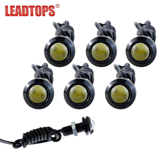 6pcs High Brightnes Eagle Eye Light 18/23MM LED DRL Daytime Running Lights  For Car