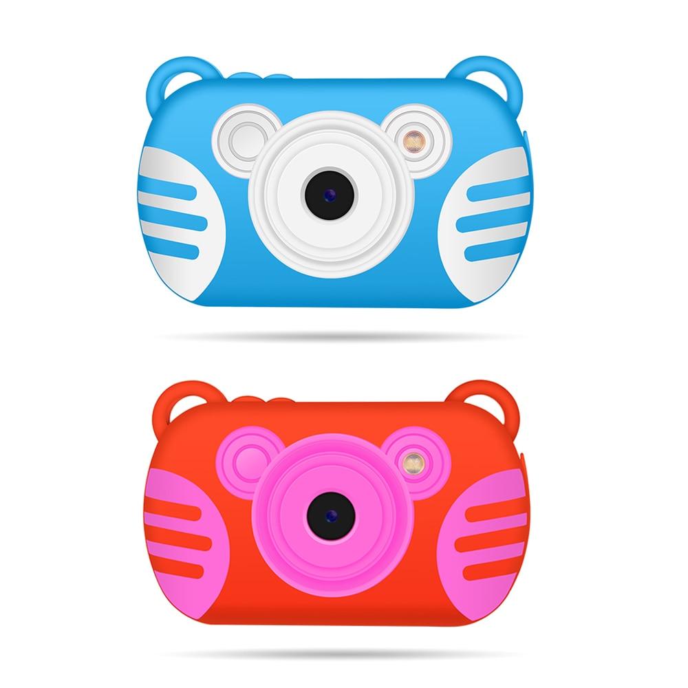 K6 Mini Child Digital Camera Kid cartoon tiger Waterproof Underwater Shooting Portable 2.7 inch Camera 8X digital