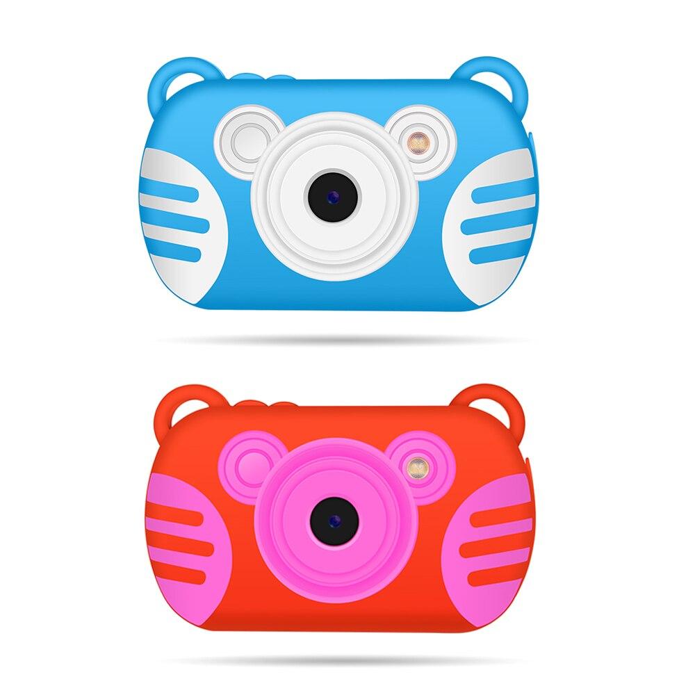 K6 Mini enfant appareil photo numérique enfant dessin animé tigre étanche sous-marine tir Portable 2.7 pouces appareil photo 8X numérique