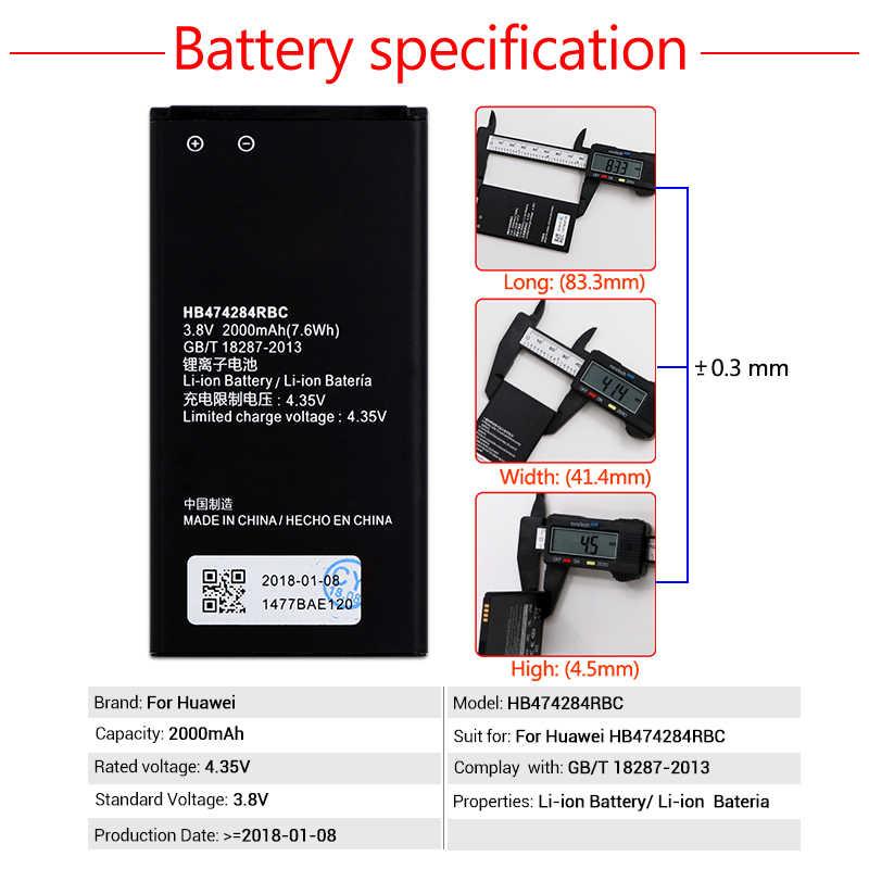48b656ec600 ... 2000mAh HB474284RBC Battery For Huawei y5 y550 y560 y625 y635 g521 g620  c8816 Honor 3C lite ...