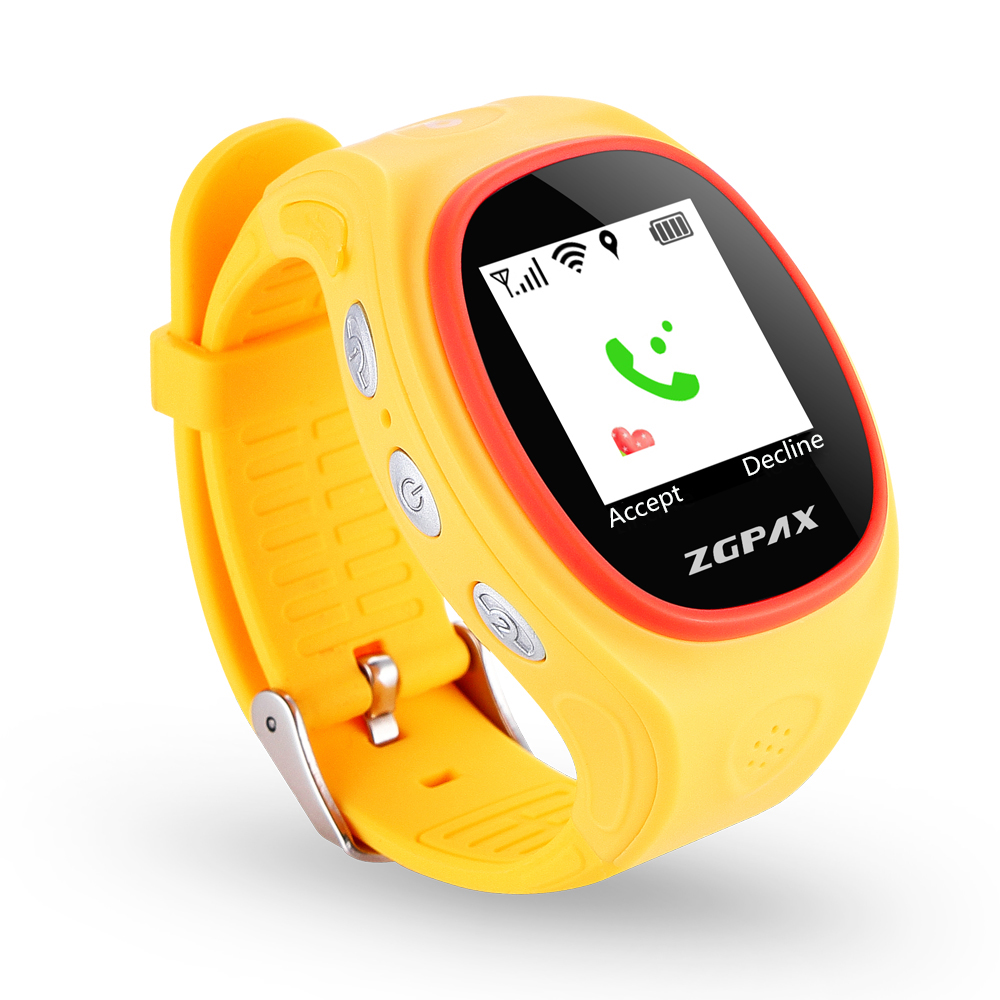 Waterproof GSM Kids Smart Watch GPS Real Time Tracker for