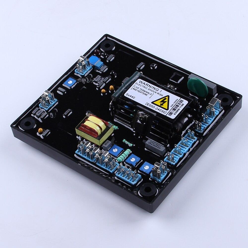 SHALUO agradable SX440 alternador interior Avr Diagrama de Circuito de regulador de voltaje automático generador parte reparación Accesorios