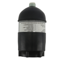 AC50201 2L CE аквалангов/дайвинг 4500psi углеродного волокна цилиндр Pcp мини/сжатый/Пейнтбол воздушный бак/пистолет+ крышка резиновый протектор