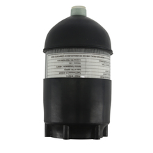 AC50201 2L CE ถัง Scuba/ดำน้ำ 4500psi คาร์บอนไฟเบอร์กระบอก Pcp Mini/บีบอัด/Paintball Air Tank/ ปืน + ยาง
