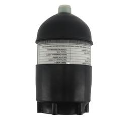 AC50201 2L CE Scuba Tank/Duiken 4500psi Koolstofvezel Cilinder Pcp Mini/Gecomprimeerd/Paintball Air Tank/ gun + Cover Rubber Protector