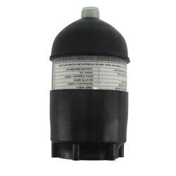 AC50201 2L CE tanque de buceo/buceo 4500psi cilindro de fibra de carbono Pcp Mini/comprimido/tanque de aire de Paintball/ pistola + Protector de goma