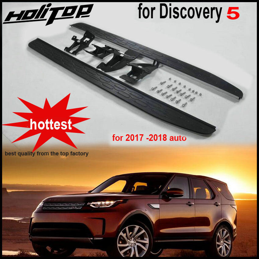 hottest running board side step side bar for LR Discovery 5 original design reliable quality free