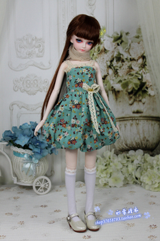 BJD doll clothes 1/3 1/4 Harness flower skirt for girls SD BJD Doll Accessories