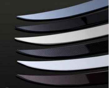 ABS צבע רכב האחורי Trunk ליפ ספוילר כנף Fit עבור וולוו S90 S90L 2017 2018 על ידי EMS