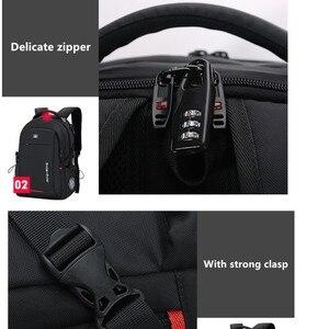 Image 5 - SWICKY männlichen Multifunktions USB lade mode business casual reise anti diebstahl wasserdicht 15,6 zoll Laptop männer rucksack
