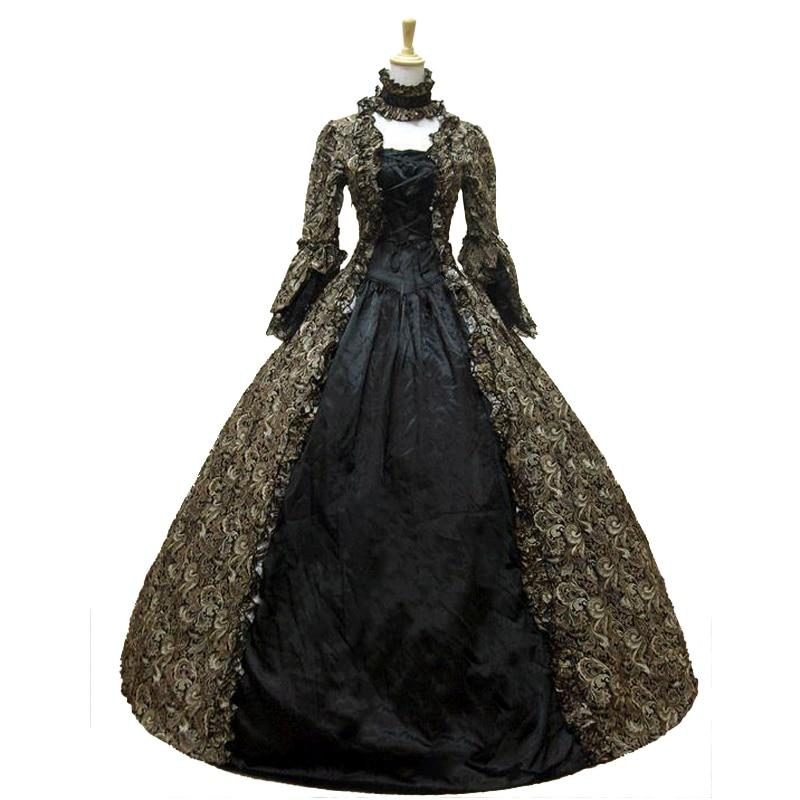 18-ojo amžiaus Marie Antoinette suknelė - Karnavaliniai kostiumai - Nuotrauka 3