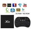 X96 2 GB 16 GB 16.1 AH243-AH245 S905X Android 6.0 Malvavisco Teclado TV BOX + Envío Libre