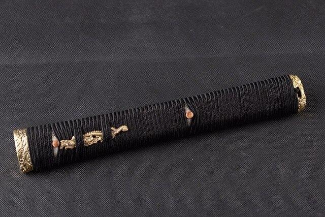 Nuovo Arrivo Speciale Spada Montaggio Maniglia Tsuka per Spada Giapponese  Katana con il Nero Ito   6a7f57e475