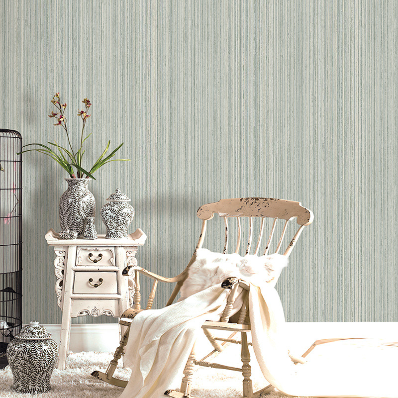 Beibehang Plain simple embossed wallpaper living room bedroom home improvement hotel hotel works vertical striped 3d wallpaper