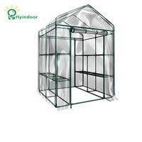 Hyindoor Садовые принадлежности сельскохозяйственная теплица ПВХ экран Sunroom Садоводство, овощи и цветы