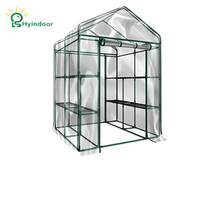 Hyindoor Garden Supplies Agriculture Greenhouse PVC Screen Sunroom For Gardening Vegetable And Flowers