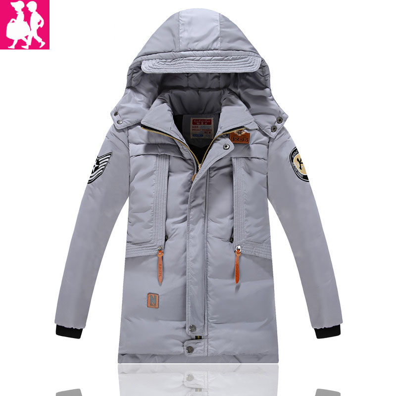Casual 2018 Winter Jacket for Boys Warm Jackets Coats Outerwears Thick Hooded Down Cotton Jackets for Children Boy Winter Parkas 2017 winter down jackets for boys