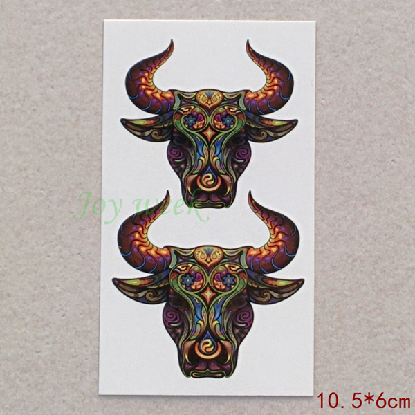 Online Buy Wholesale Bull Tattoo From China Bull Tattoo